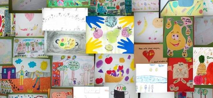 Le message de la Journée mondiale de l'alimentation 2015 transférée à travers des dessins