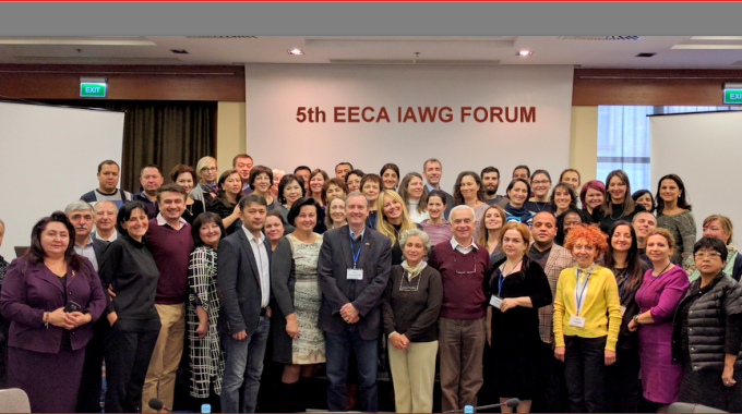 Information on the Fifth Forum of Inter-agency Working Group on Eastern Europe and Central Asia for sexual and reproductive health in crisis
