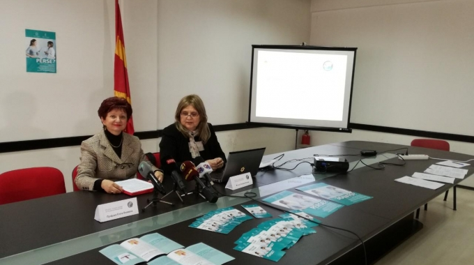 Press conference – Results of screening for cervical cancer in Macedonia