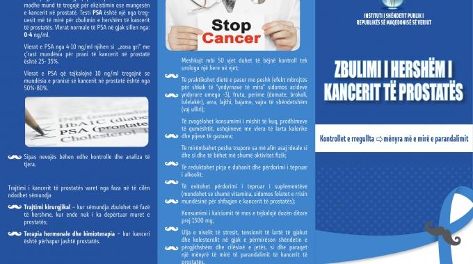 Muaji i shëndetit të meshkujve: Kanceri i prostatës